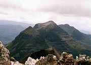 Liathach from Beinn Eighe