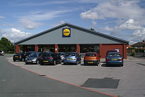 Maghull - Image: Lidl supermarket, Maghull geograph.org.uk 1411357