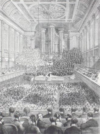 Birmingham Triennial Music Festival - Sullivan's The Light of the World, premiere 1873