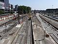 Lille - Travaux en gare de Lille-Flandres (E06, 7 juillet 2013).JPG