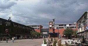 Lillestrøm -  Square in central Lillestrøm