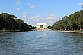 Lincoln Memorial, a view from the Mall..JPG