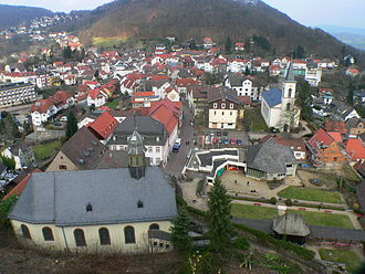 Lindenfels - View of the town