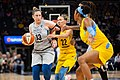 Lindsay Whalen (13) defends the ball against Courtney Vandersloot (22) and other Chicago Sky players.jpg