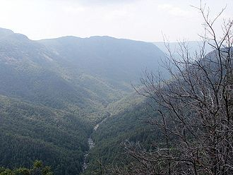 Linville Gorge Wilderness - Image: Linville Gorge