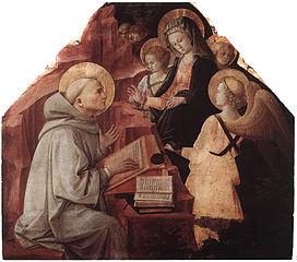 L'Apparition de la Vierge à saint Bernard