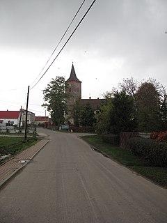 Lisięcice Place in Opole, Poland