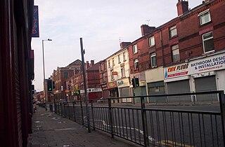 Litherland area within the Metropolitan Borough of Sefton, Merseyside, England