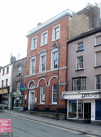 Blestium - Lloyds TSB bank, Monnow Street