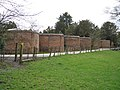 Lobed wall, Wroxall Abbey - geograph.org.uk - 1775887.jpg