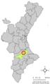 Localització de Guadassèquies respecte del País Valencià.png