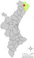 Localització de Xert respecte del País Valencià.png