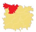 Location of Kolkolia Union in Jagannathpur Upazila.png