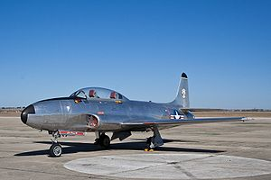 Lockheed T-33 Shooting Star - CAF Centex 01.jpg