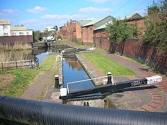 Digbeth Branch Canal - Locks on the Digbeth Branch