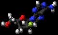Lodenosine molecule ball.png