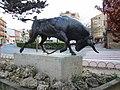 Lodosa - Monumento al Toro con soga 1.jpg