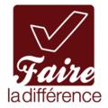"""Logo de campagne électorale étudiante """"Faire la différence"""".png"""