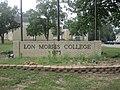 Lon Morris College sign, Jacksonville, TX IMG 3014.JPG