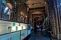 London - Cromwell Road - Natural History Museum 1881 by Alfred Waterhouse - View South through Side Corridor of the Central Hall on the 1st Floor II.jpg