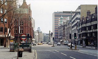 High Holborn street in Holborn, Central London