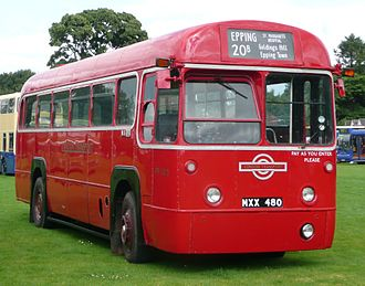 Buses in London - The London Transport brand continued on buses until 1986
