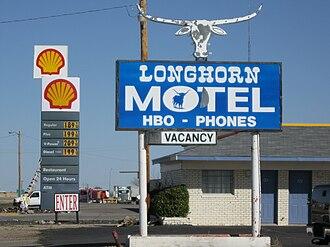 Boise City, Oklahoma - Image: Longhorn Hotel Boise City Oklahoma