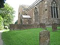 Looking towards the church porch at St Mary, Adderbury - geograph.org.uk - 1460890.jpg