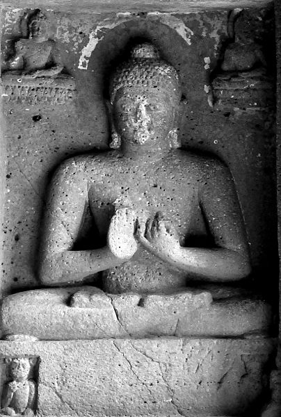 File:Lord Buddha at Ajanta caves.jpg