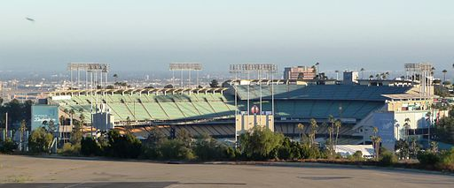 Los Angeles - Dodgers Stadium from Historic LAPD Academy