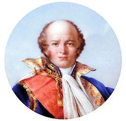 Le maréchal Louis Nicolas Davout (portrait réalisé par Jean-Baptiste Isabey sur la «Table d'Austerlitz»).