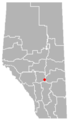 Lousana, Alberta Location.png