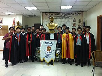 DeMolay International - Loyalty demplay