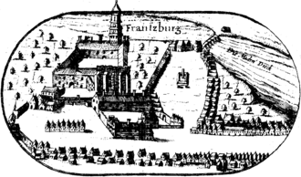 Capitulation of Franzburg - Franzburg, Western Pomerania, in 1618