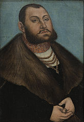 Portrait of the Elector John Frederic the Magnanimous of Saxony (1503-1554)