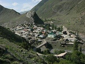 Rutulsky District - Village Luchek in Rutulsky District
