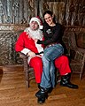 Lucky Gal and Bad Santa, at Jamian's Bar, Red Bank, New Jersey (4216766697).jpg