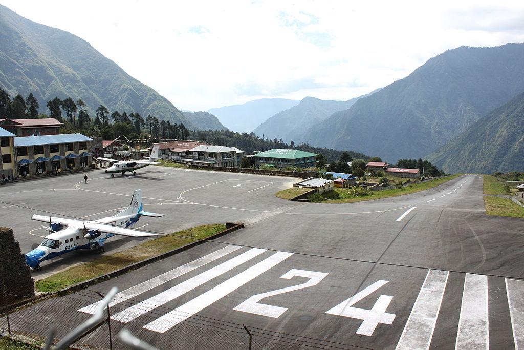 Najnebezpečnejšie letiská - Tenzing Hillary, Nepál
