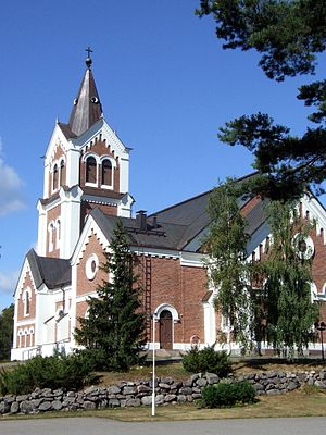Lumijoki - Lumijoki Lutheran Church
