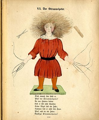 Struwwelpeter - Struwwelpeter from 1845 (First Edition)