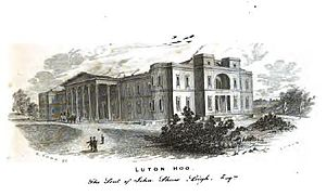 Luton Hoo - Luton Hoo, picture published in 1855