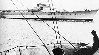 German cruiser Lützow (1939) - Image: Lutzow 1940