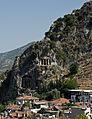Lycian tombs Fethiye IMGP8560.jpg