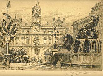 Fair of Lyon - Image: Lyon Place des Terreaux