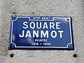 Lyon 2e - Square Janmot - Plaque (mars 2019).jpg