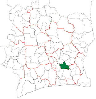 MBatto Department Department in Lacs, Ivory Coast
