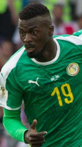 M'Baye Niang - Niang playing for Senegal at the 2018 FIFA World Cup