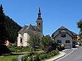 Mönichwald - Park und Kirche hll Peter und Paul und Gemeindeamt.jpg