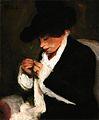 M.-Zsolnay Crocheting Woman 1913.jpg