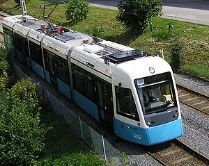 New M32 tram out for a test run